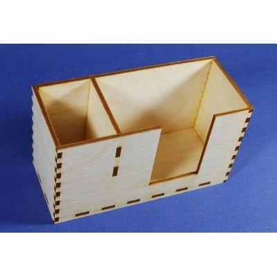 Zettelbox mit Stiftehalter | ZBH 4215