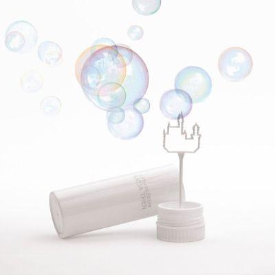 6 Stück in einer Box - Luftschloss - Seifenblasen mit Luftschloss-Blasring   166779691