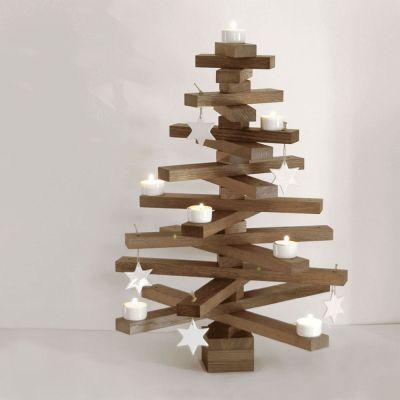 bauMsatz - Bausatz für einen Weihnachtsbaum aus Eiche | 306211421