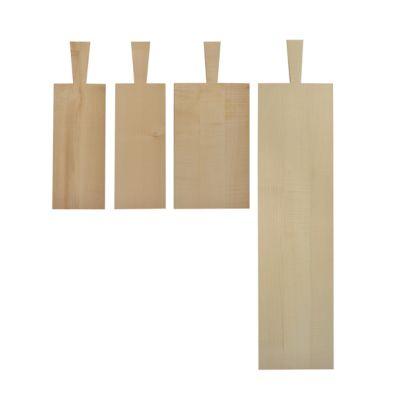 Brotzeitbrett mit praktischem Griff in der Größe - Stark (29 x 12 x 2,2 cm + Griff 10 cm) | BR1-5