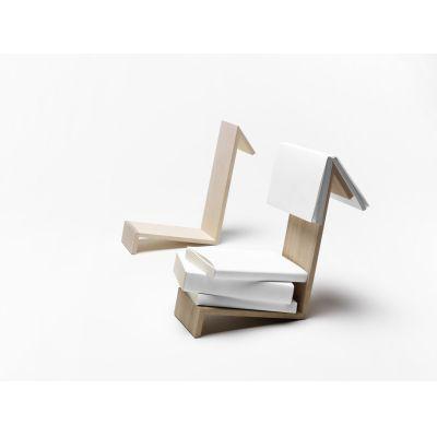 Buchablage Lesezeichen aus Holz, Ahorn oder Eiche | 571350420