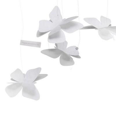 Fang den Schmetterling - Grußkarte mit Schmetterling aus Tyvek | 167812101