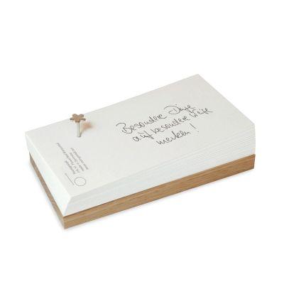 FlowerNail Merkzettel - schöner Notizblock mit einem BlumenNagel | 857716091