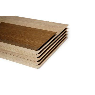 Großes Brotzeitbrett aus Eiche mit abgeschrägten Seiten | 844903991