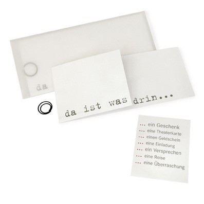 Grußkarte - Gutscheinkarte | 853306915