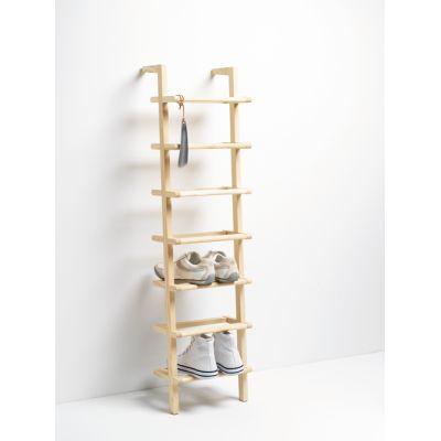 Hohes und schmales Schuhregal Lady Long aus Holz | 40029L / EAN:4023116402298