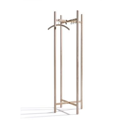 Holzgarderobe New Hang On aus Esche, unbehandelt | 40082 / EAN:4023116401826