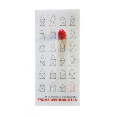 Kleiner Adventskalender mit Spielmagnet | 556074621