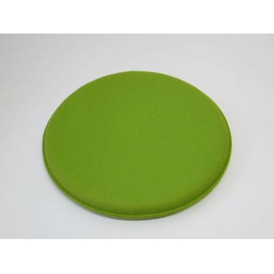 kreisrunde Sitzkissen mit d: 40 cm in den Farben - Klee 55, karmin 15 | 12539