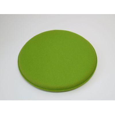 kreisrunde Sitzkissen mit d: 40 cm in den Farben - Violett 28, orange 05 | 12539