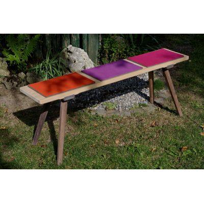 Orange 05 - Sitzauflagen aus Wollfilz, 8er Set, 25 x 35 cm | 171809841