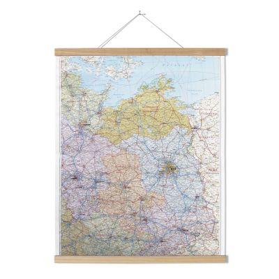 Posterleiste für Landkarten aus Esche | 40115