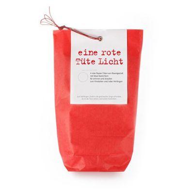 rote Lichttüten für Teelichter | TU1R