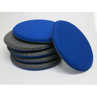 Runde, kleine Sitzkissen aus Filz, d: 30 cm in vielen Farben | Filzrund30cm