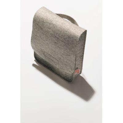 Schuhputzbeutel aus Filz mit Wäscheklammern aus Holz | 40018L