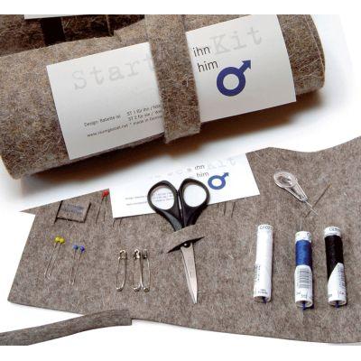 Starter-Kit für Ihn - Filzrolle mit Nähzeugs | 316384676