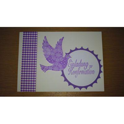 handgearbeitete Karten für christliche Feste Einladung, Menü, Danke   2014/1