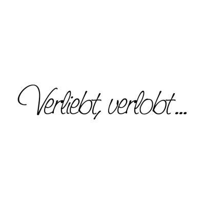 Stempel 'Verliebt, verlobt...' | 1800001 / EAN:4011643845220