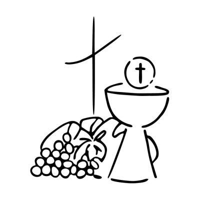 "Stempel ""Kelch, Brot, Wein"" | 1801107 / EAN:4011643846074"