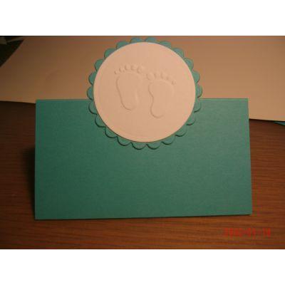 Tischkärtchen zur Taufe Farbe nach Wunsch | ConnyT/2
