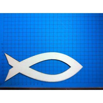 Fische mit Ausschnitt aus Holz ab 22mm - 200mm | KFH33.. / EAN:4250382850434