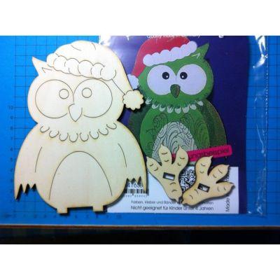 Weihnachtseule Standfigur in verschiedenen Größen | EUH 44.. SB / EAN:4250382858331