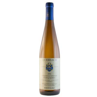 1994 Hallgarten Schönhell Spätlese Weisswein   9428