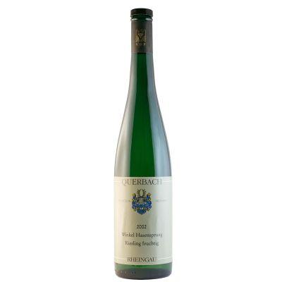 2002 Querbach Oestrich Lenchen Riesling Fruchtig Weisswein | 0212