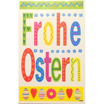 5 St. Osterkarte 131281 11,5 x 17 cm FROHE OSTERN mit Umschlag   131281 / EAN:4017703758653