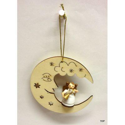 Engelanh nger engelmusikanten im halbmond tolle for Tolle dekoration