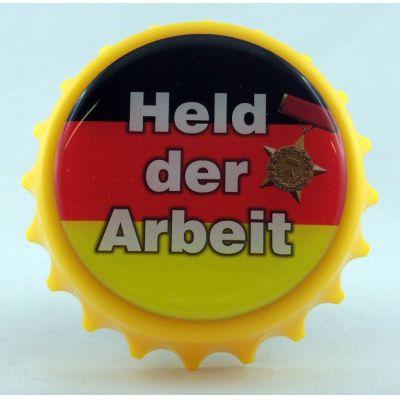 Kapselheber Held der Arbeit Flaschenöffner Magnet DDR | NM-122 / EAN:4250825195061