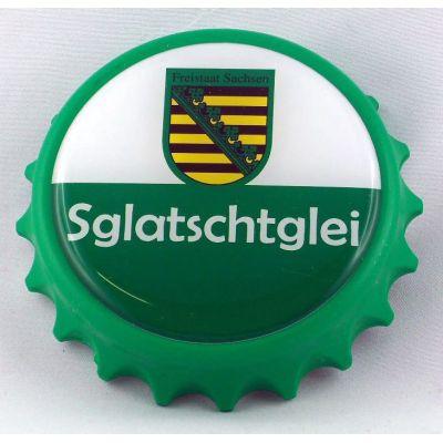 Kapselheber Sachsen Sglatschtglei Flaschenöffner Magnet  | NM-121 / EAN:4250825195061