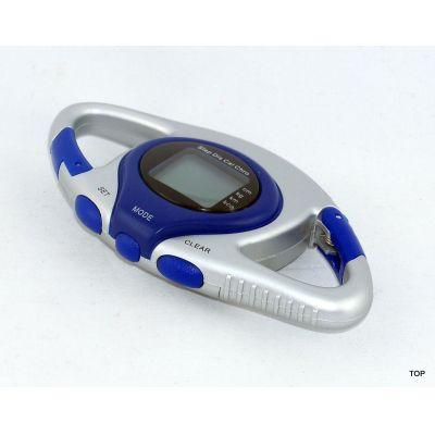 Schrittzähler Pedometer mit LCD Anzeige Coper sowie mit Distanz- und Kalorienzähler | G-12