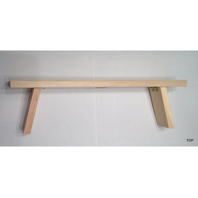Schwibbogen 40 cm Untersatz nicht klappbar Holz Bank Erhöhung   45898 / EAN:4037684458984