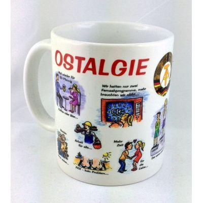 Tasse Ostalgietasse Kaffeetasse Kaffeebecher Porzellan Deko | NM-15 / EAN:4250825195030