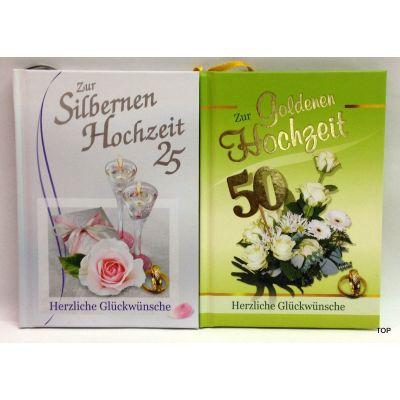 Zur Silbernen oder Goldenen Hochzeit Herzliche Glückwünsche | 2565 / EAN:9783940025654