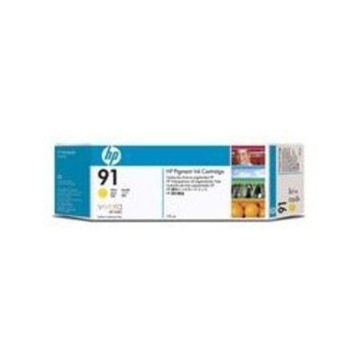 HP 91 775 ml-Tintenpatronen Gelb (3er-Packung) | C9485Adre / EAN:0883585034871