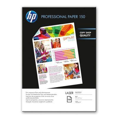 HP Professional Glossy Laser Paper A4 150 g/m2 150 Blatt 210 x 297 mm | CG965Adre / EAN:0884962310632