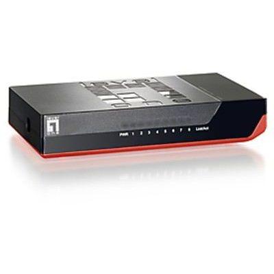 LevelOne LAN Switch FSW-0811 8-Port | 130743dre / EAN:4015867140000