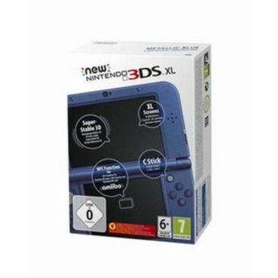 Nintendo Dual Screen NEW 3DS XL Konsole - Blue   NEW3DS0004gross / EAN:0045496503000
