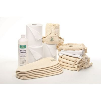 Stoffwindel-Paket 3 Komplettpaket SOFT für die ganze Windelzeit | 1222200 / EAN:4250298610412