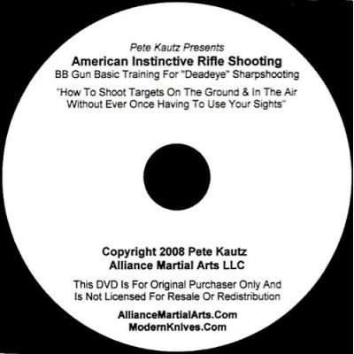 American Instinctive Rifle Shooting   AIRSDVD