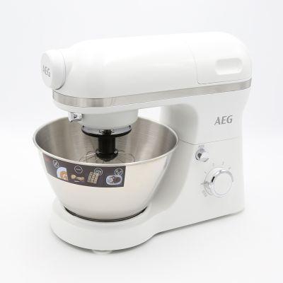 AEG KM 3200 Küchenmaschine Küchenhelfer multifunktional weiß Mixer | 15483 / EAN:7332543552542