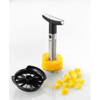 Ananasschneider Professional mit Stückchenschneider Ananas Schneider Edelstahl schneiden schälen | 51 / EAN:4006664135009