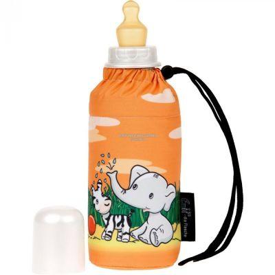 Babyflasche 250 ml Friends orange Trinkflasche Baby Kinderflasche Emil die Flasche | 5007 / EAN:4030596000975
