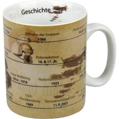 Becher Geschichte Tasse Porzellan Schule Kaffeebecher Kaffeetasse Kaffee Porzellantasse | 3378 / EAN:4028145043320