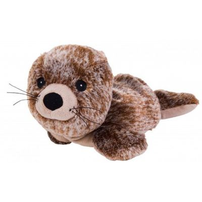 Beddy Bear Robbe Polar Wärmflasche Wärmetier Wärmeprodukt Kuscheltier Körnerkissen kuscheln Robbe | 2335 / EAN:4260101891105