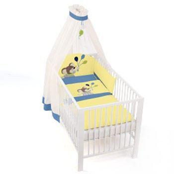Bettset Maxi Bettwäsche Baby Bett-Set 92075 3-teilig | 1968 / EAN:4004701133827
