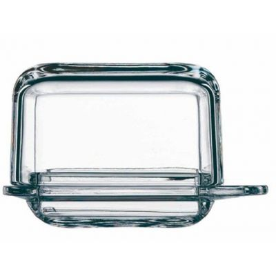 Butterdose klein Brunch single Butter dish Glas Crystal Butter-Dose Butteraufbewahrung Kristal | 4864 / EAN:4003762182287