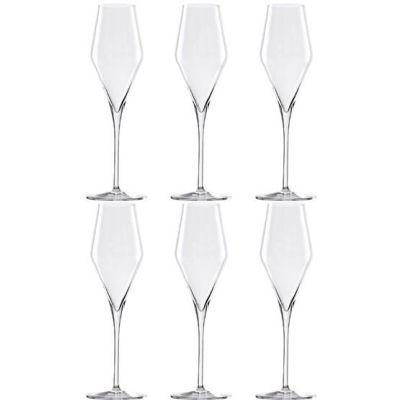 Champagnergläser Quatrophil 6-er Set Champagner-Gläser Weingläser Weinglas Weißwein-Gläser | 8461 / EAN:4012632156884